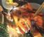 Индейка с яблоками и сладким шукрутом из савойской капусты