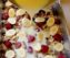 Овсяный пирог с бананами и черникой